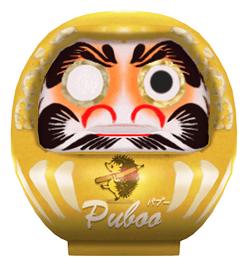 パブー×コミPo! 漫画コンテスト賞品 特製3Dアイテム「金のダルマ」