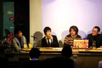 新宿ロフトプラスワンイベント写真 - カントクさんと伊藤剛さん