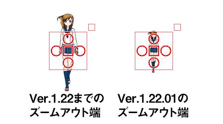 Ver.1.22.01 ズームアウトをさらに小さく