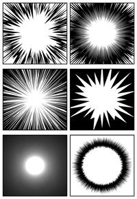 コミPo! Ver.2.30 効果線サンプル